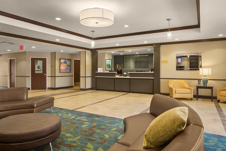 Lobby in new hotel