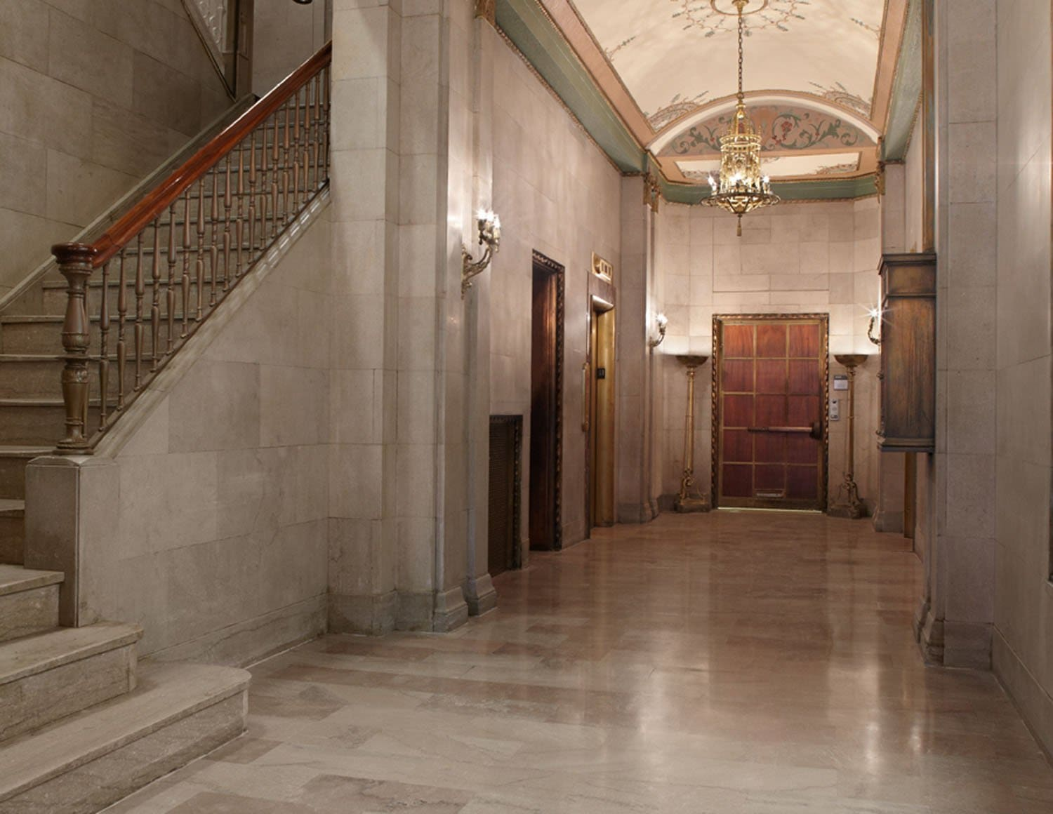 The Union Building Lobby Historic Preservation