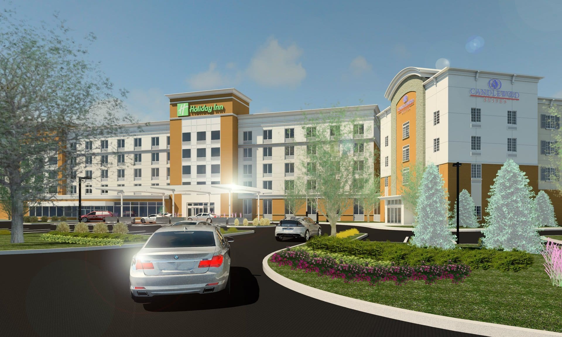Candlewood Suites, Holiday Inn Rendering