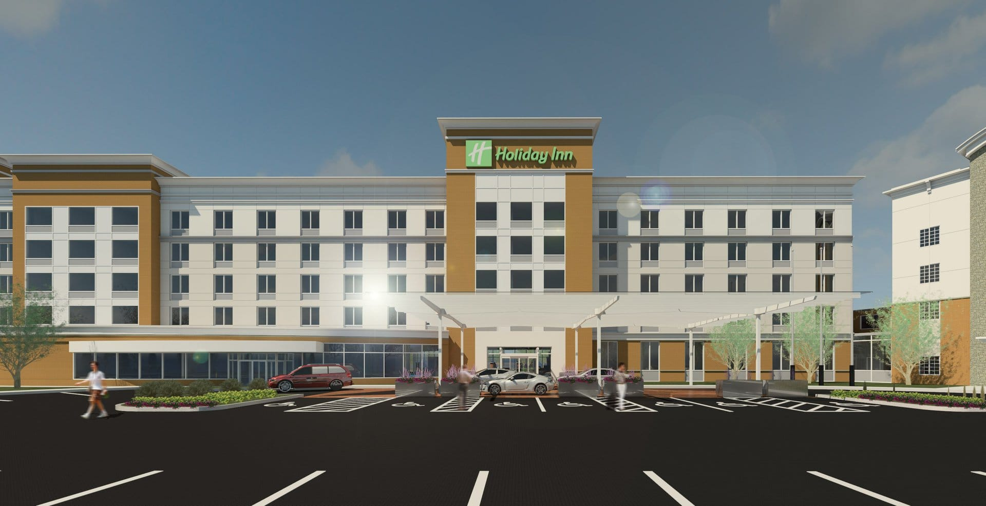 Holiday Inn Rendering