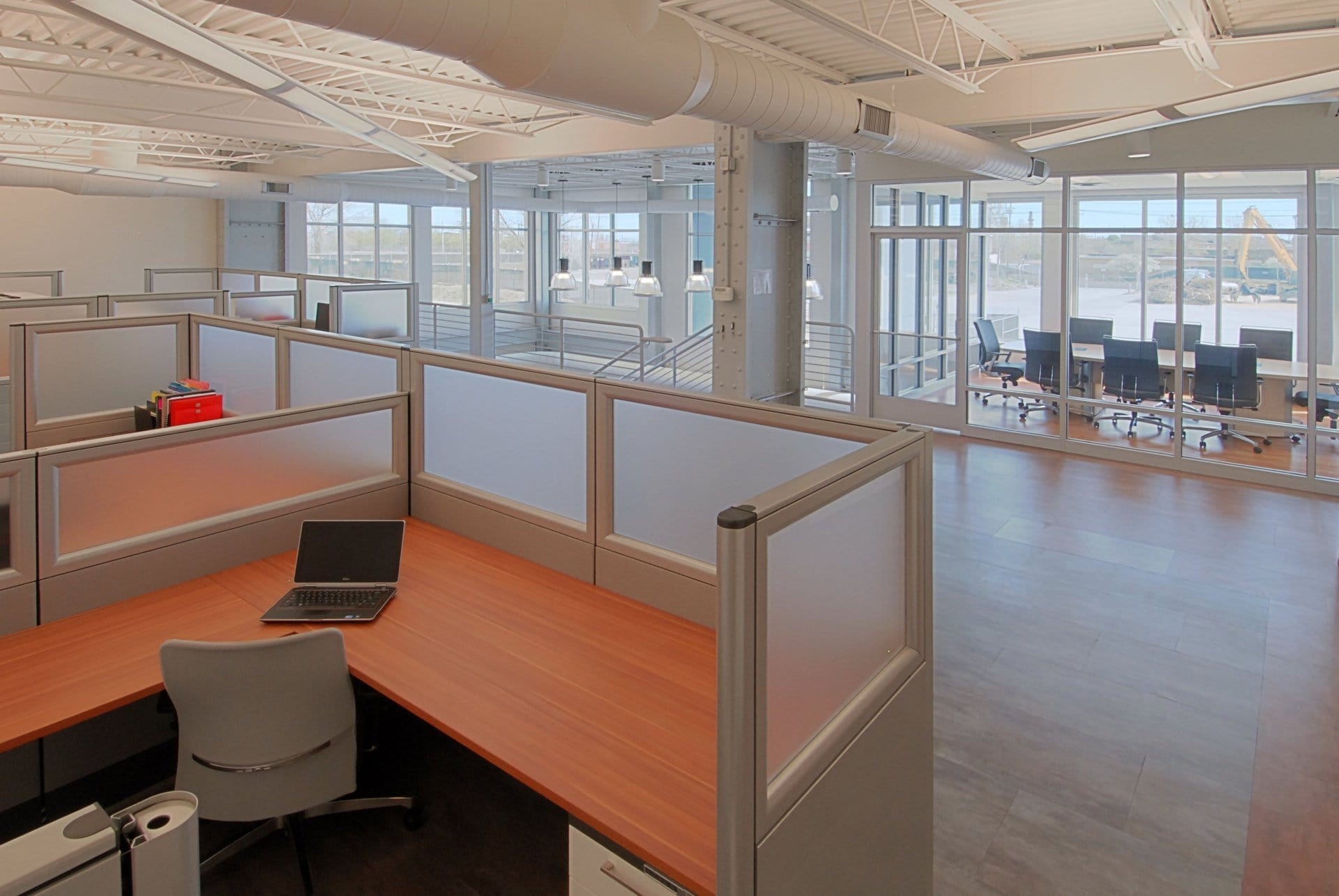 Office interior for American Iron and Metal