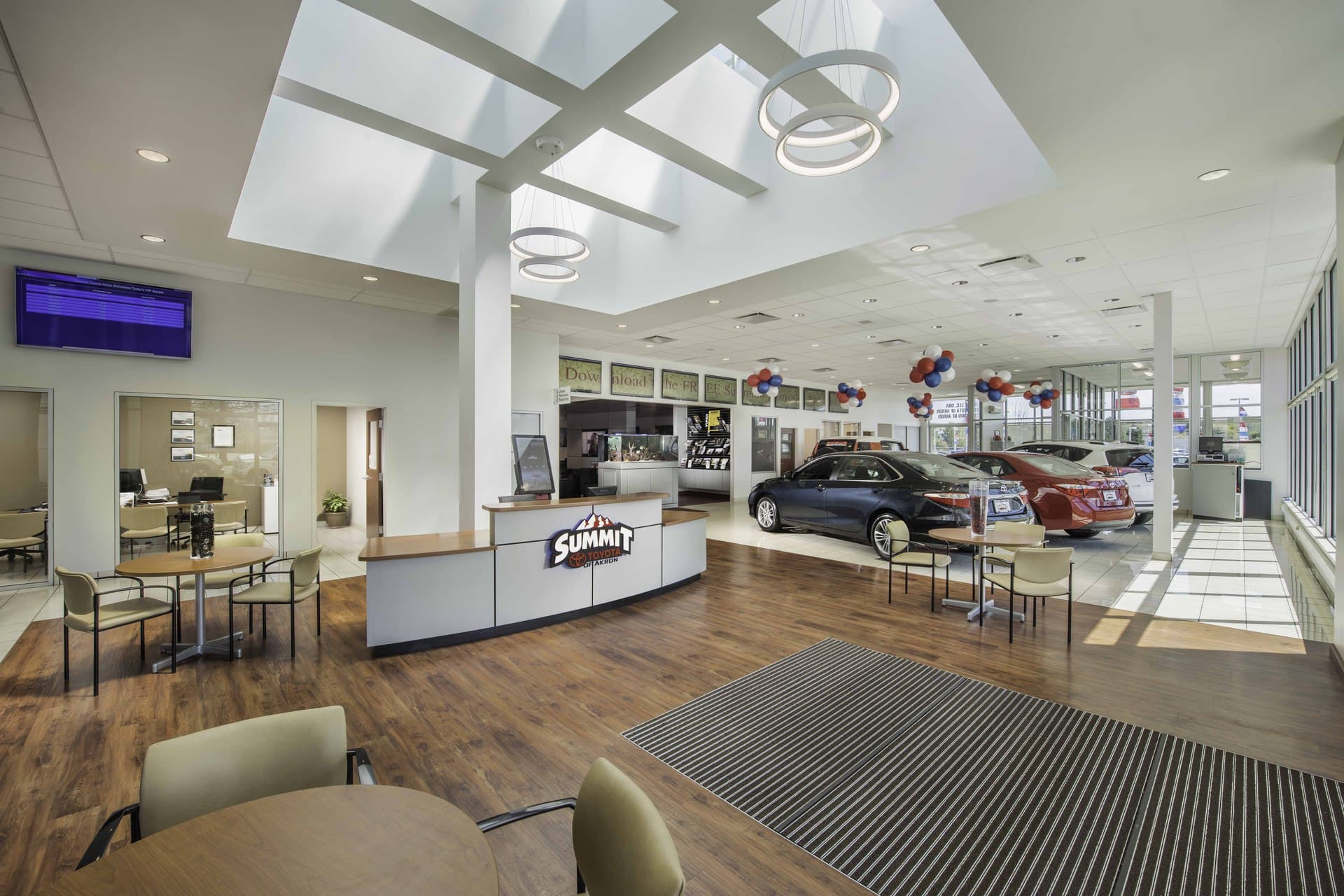 car dealership renovation