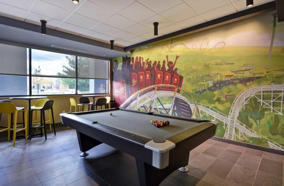 Tru Hotel game room