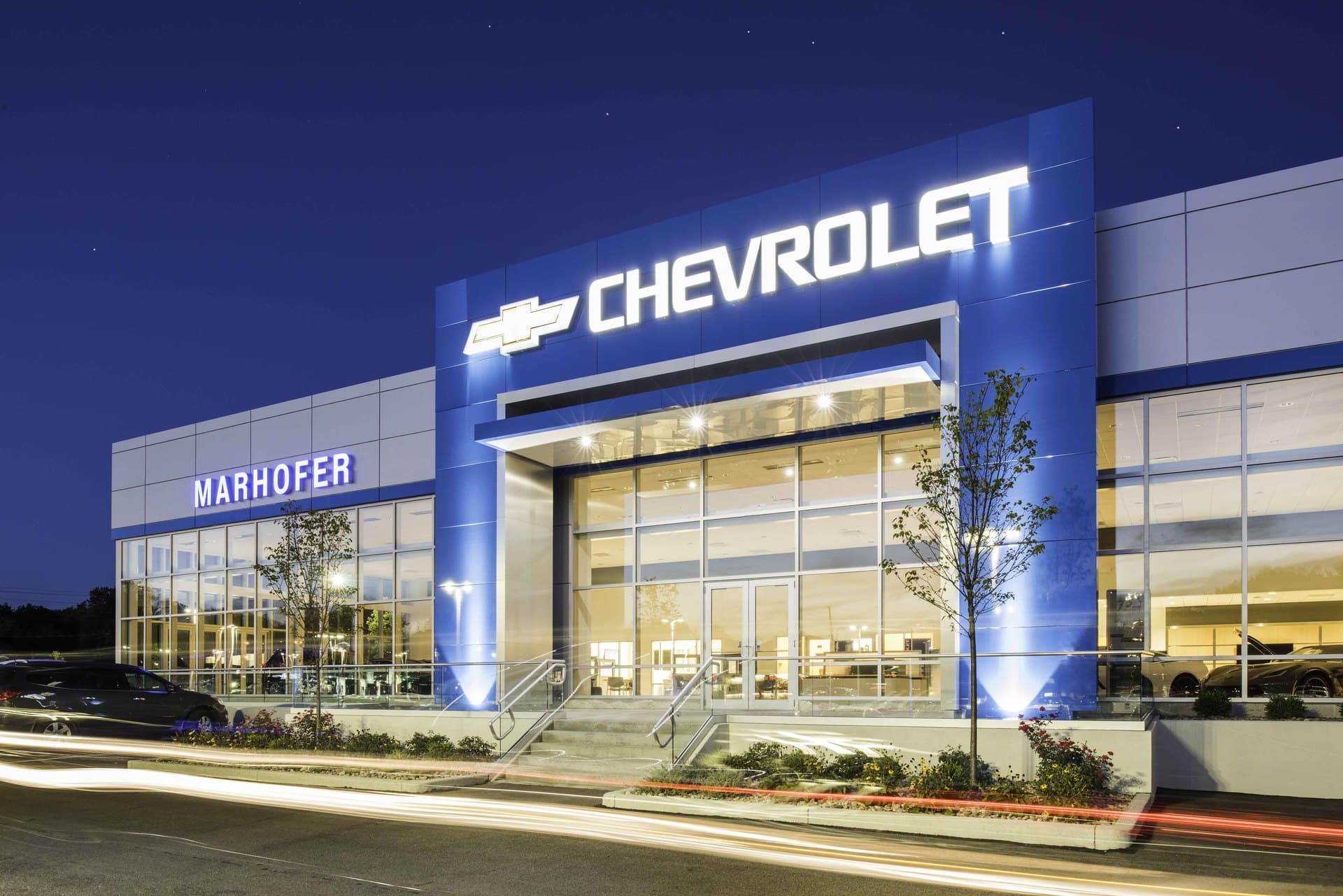 Marhofer Chevrolet new construction