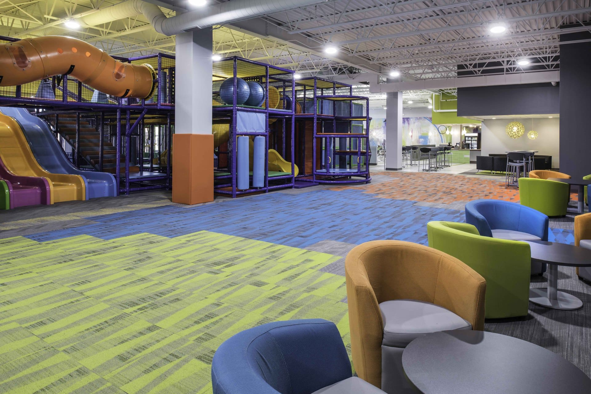 Cafe And Indoor Playground 171 Arkinetics