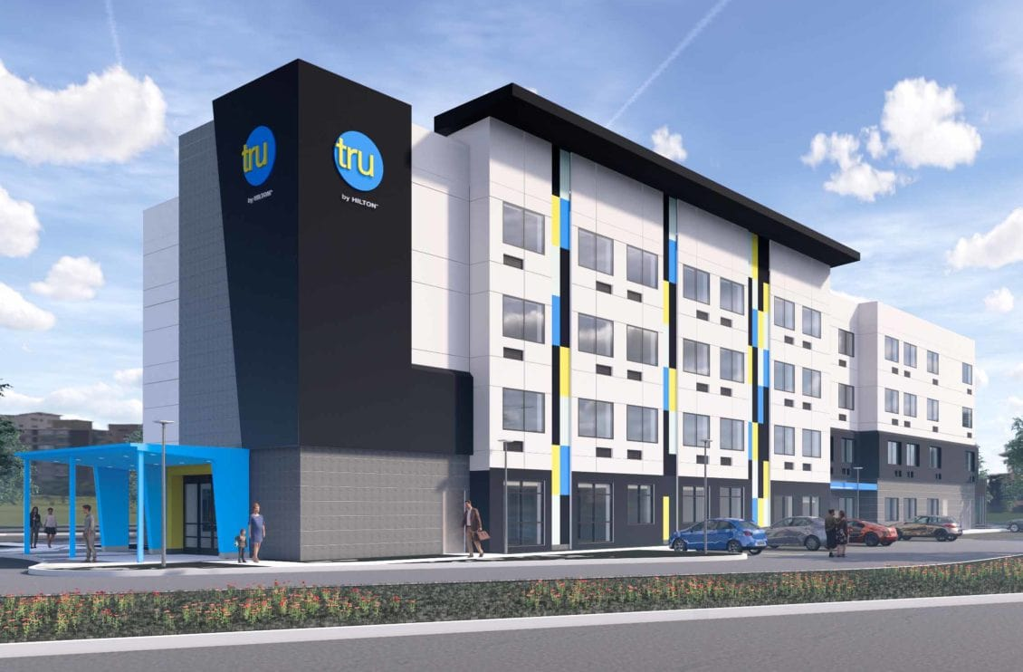 Rendering of Tru by Hilton Hotel