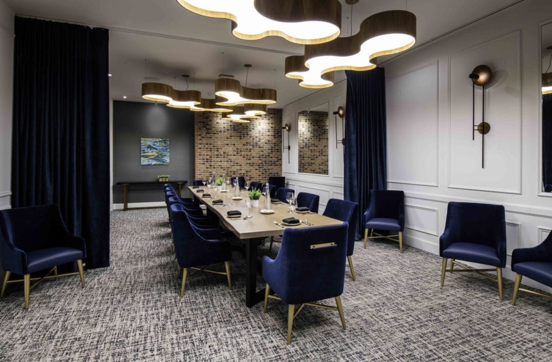 Hotel restaurant private dining